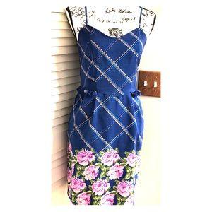 Xhilaration Floral Pocket Dress Size Medium